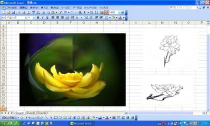 薔薇とイメージ.JPG